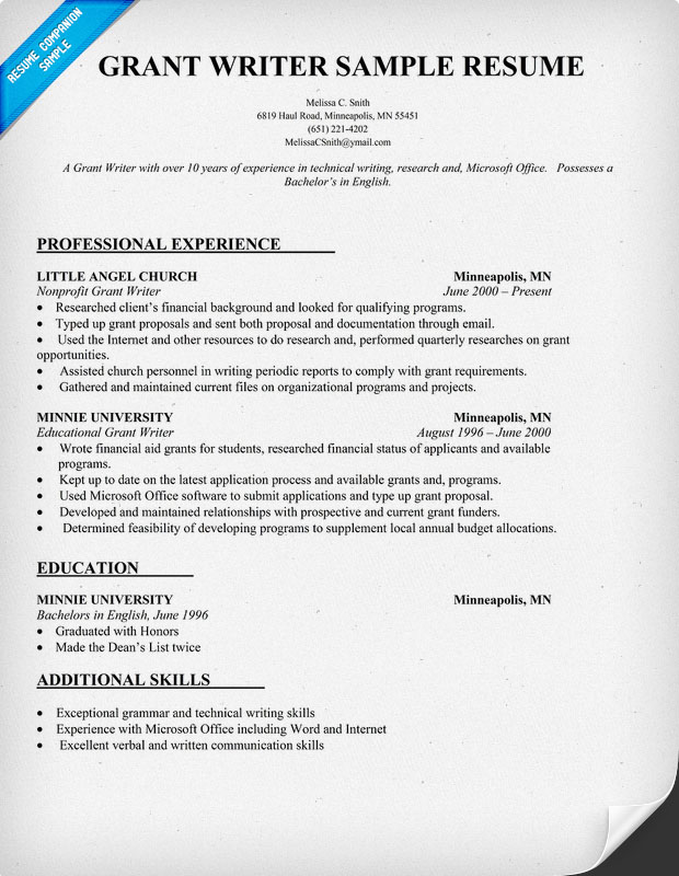 Resume Author Sample. Formats For Military Transition Resumes And