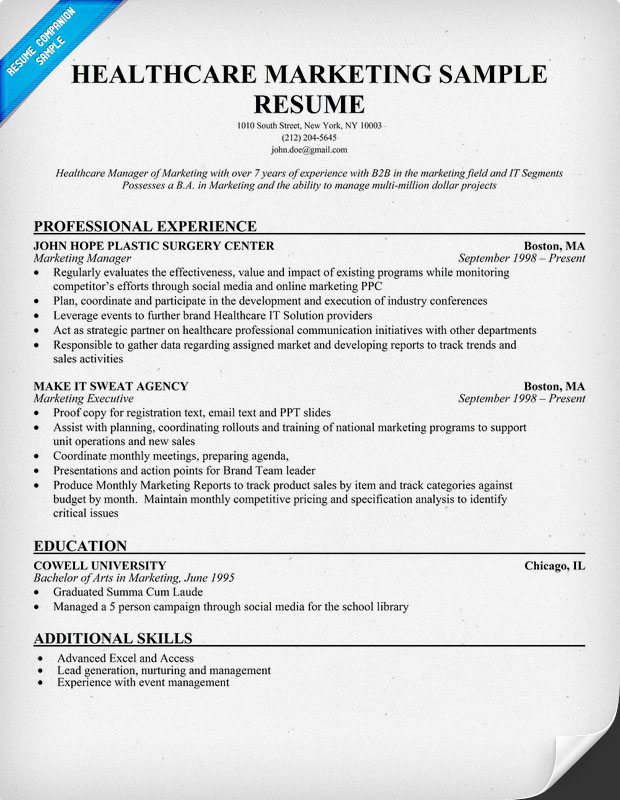 Healthcare Executive Resumes. Health Care Director Resume Template