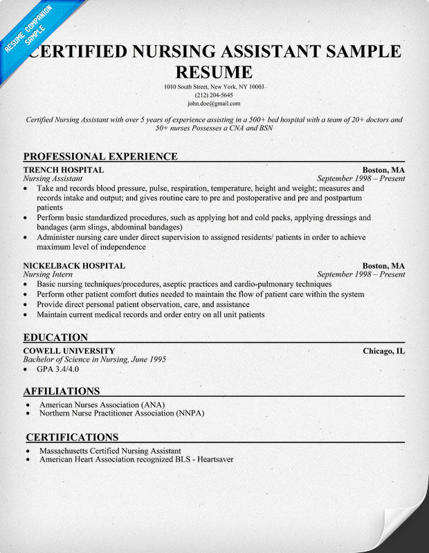 objective for certified nursing assistant resumes template sample resume for nursing aide
