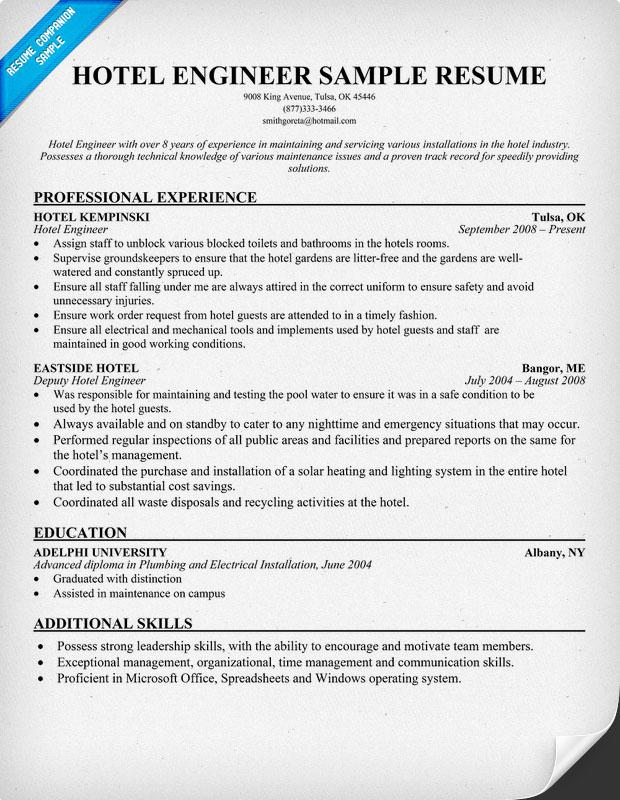 Captivating 620800: Sample Hotel Resume U2013 Hospitality Resume Sample .