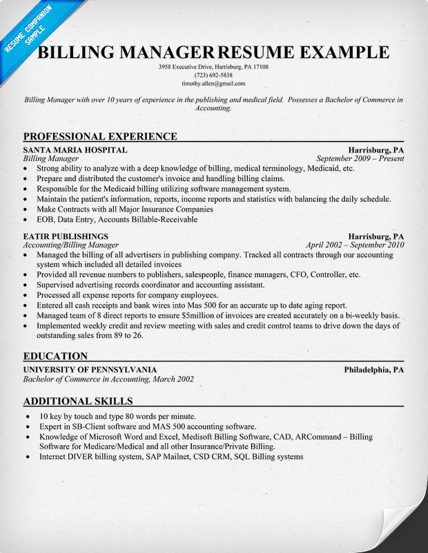 Medical Coder Resume Resume Medical Billing Specialist Templates