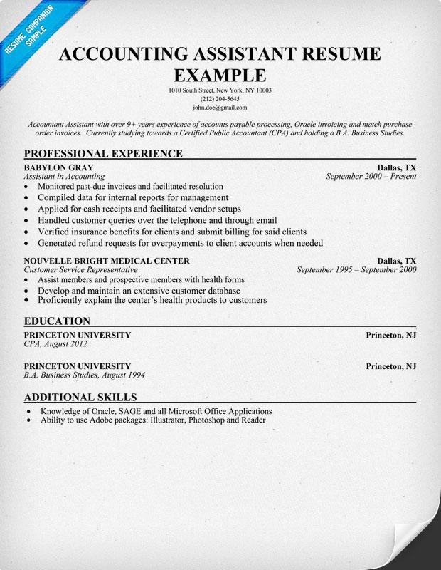Accounting Grad Resume. Accounting Resume Tips Accounting Sample
