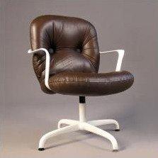 Walter Knoll Bureaustoel.Vintage Knoll Chairs Office Vintage Desk Chair High Back Rolling