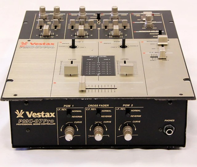 Vestax Pmc  Channel Dj Scratch Hip Hop Mixer