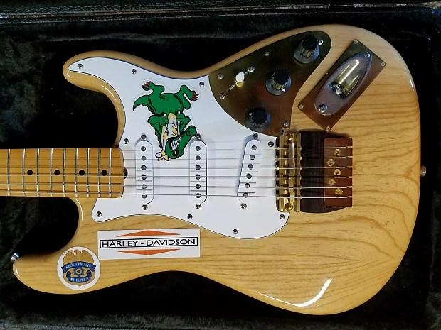 Jerry Garcia Gator Awesome Strat Natural Rusch Guitars
