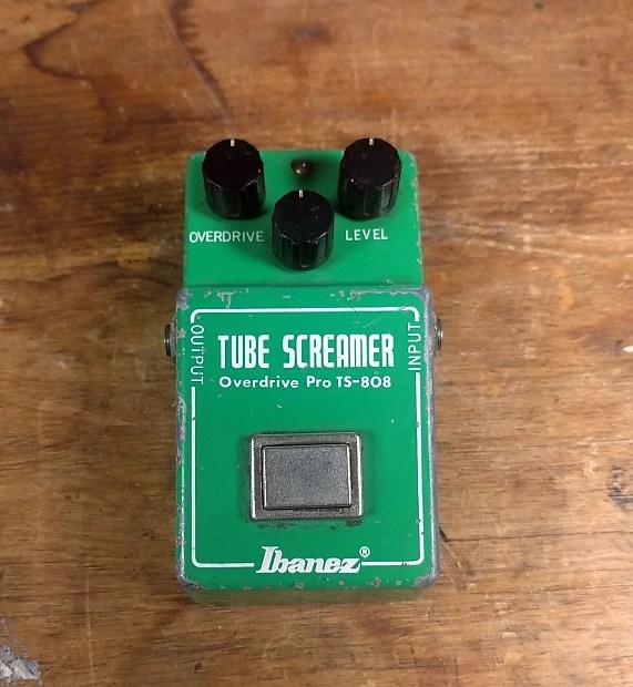 Ibanez Vintage Ts 808 Tubescreamer Rare Rc P Chip All