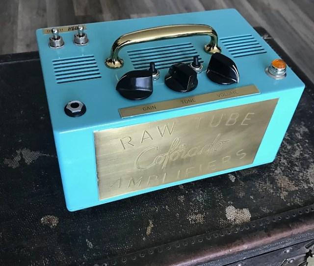 Colorado Raw Tube Amps El Malo Turquoise 2018 Turquoise
