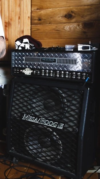 Price Drop Mesa Boogie Half Back 2x12 Cabinet Early