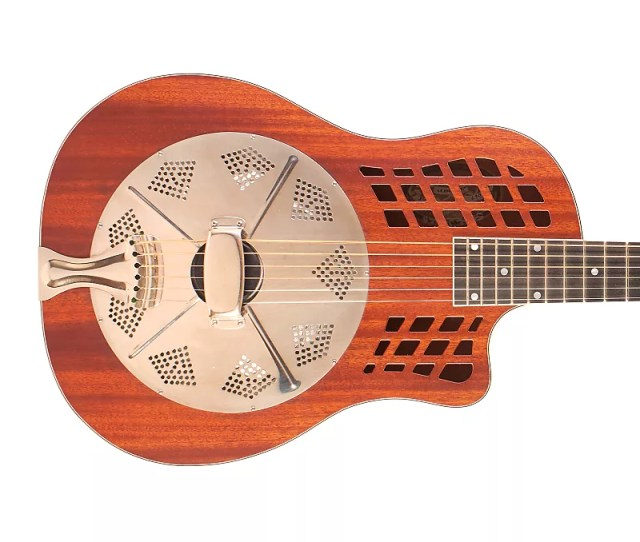 National Reso Phonic Wood Rocket