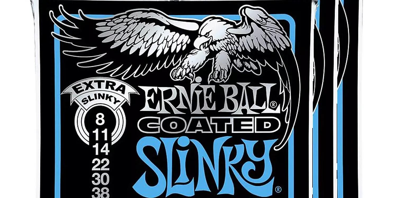 Ernie Ball 3125 Coated Extra Slinky Electric Guitar