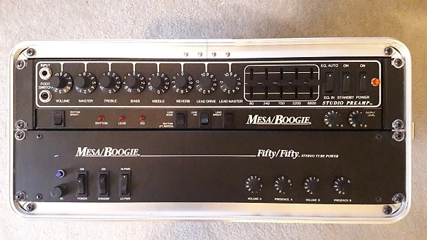 Mesa Boogie Studio Preamp And Fifty Fifty Power Amp Head