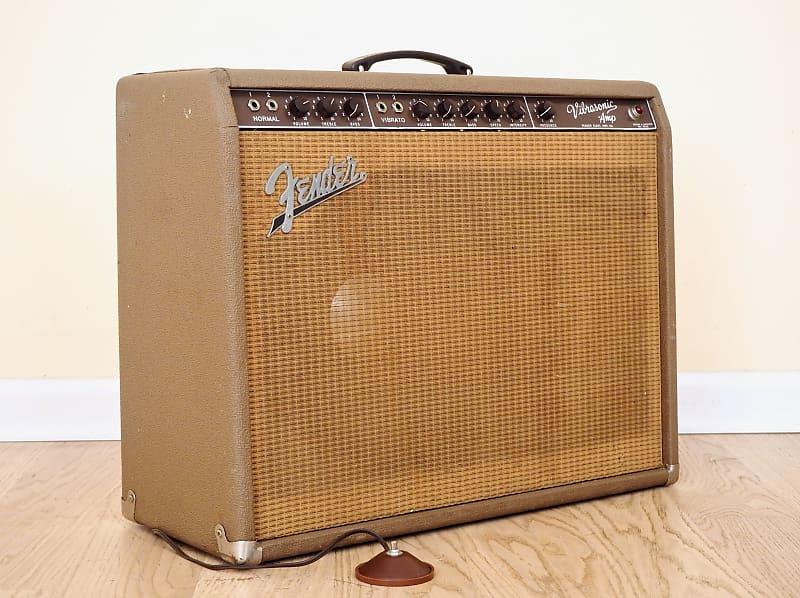 Fender Vibrasonic Vintage Pre Cbs Tube Amp Brownface