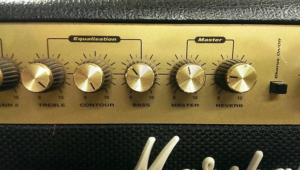 Marshall G215RCD 2x15 Watt Stereo Guitar Amp, 2x8