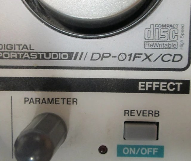 Description Shop Policies Selling A Non Functioning Tascam Dp 01 Fx Cd