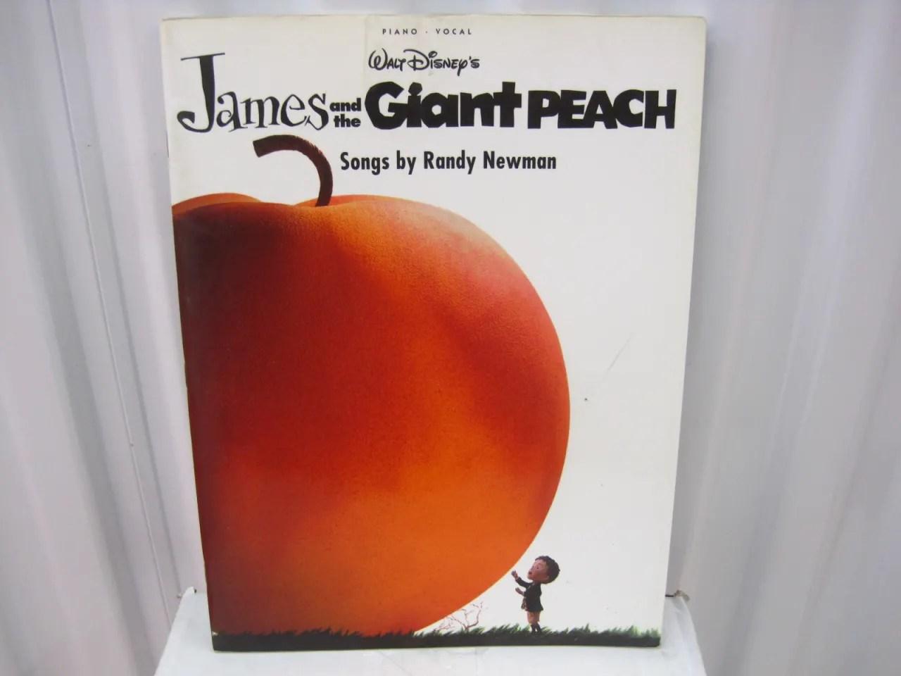 Disney S James And The Giant Peach Randy Newman Sheet