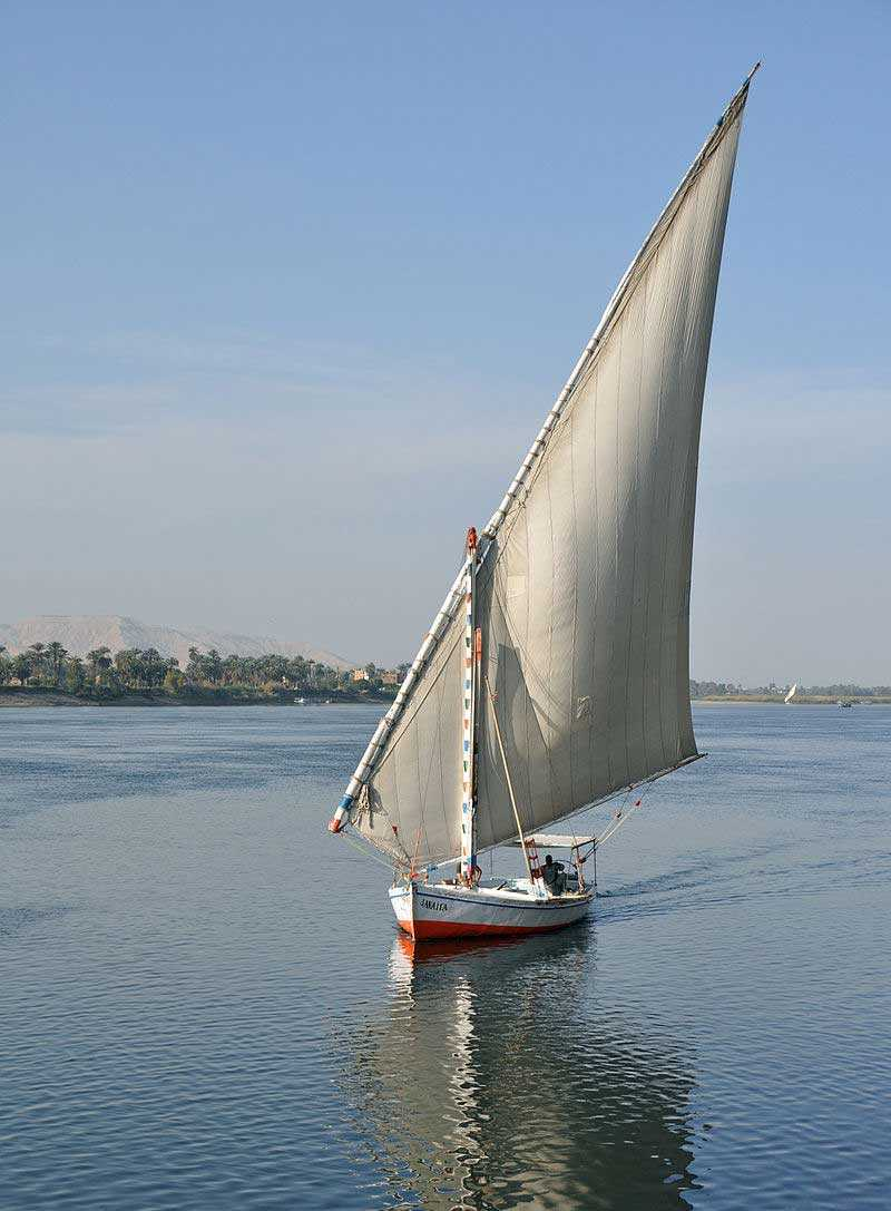 1-Day Felucca Ride on the Nile in Cairo