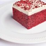 One Layer Red Velvet Cake Ricardo