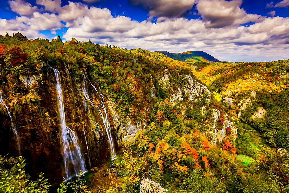 Waterfall in Plitvice Lakes National Park image
