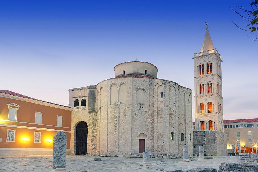 Stock travel photo: Roman forum, Zadar, Dalmatia