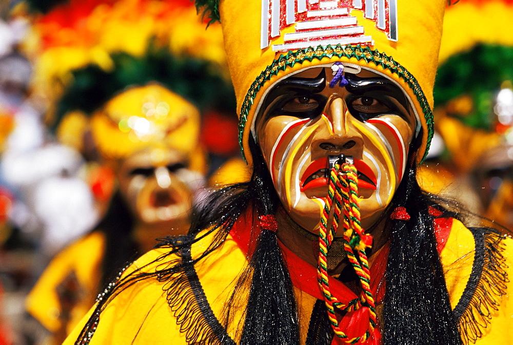 Stock travel photo: Diablada festival - the devil dance