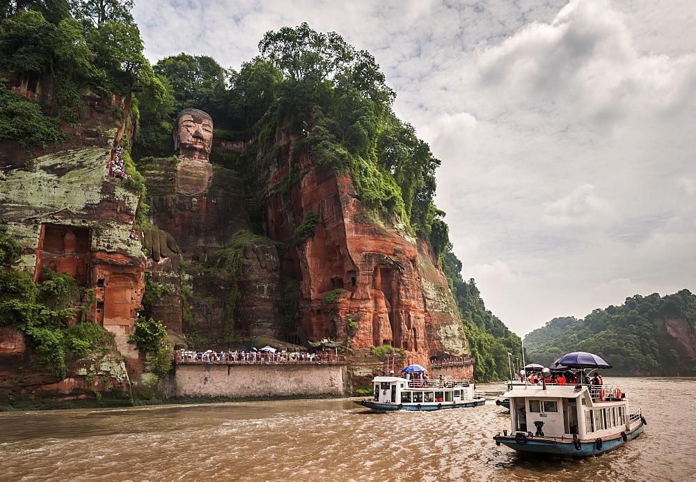 Image of Leshan Giant Buddha in China