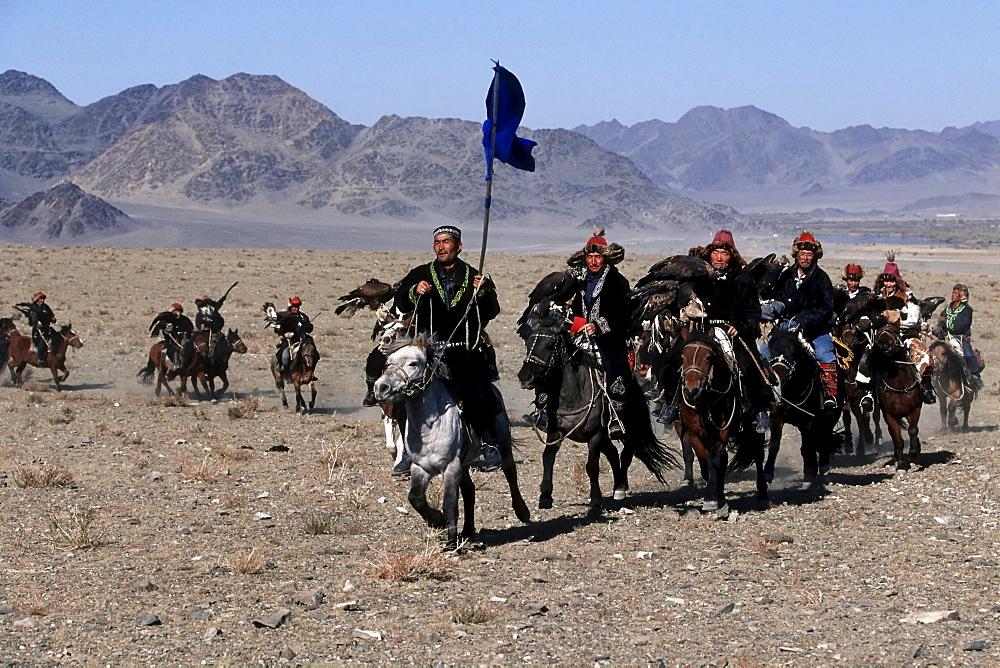 Travel Photo of Kazakhs eagle hunters
