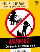 Il manifesto della Giornata contro il lavoro minorile
