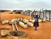 Un villaggio in Darfur