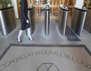 L'ingresso del consiglio della Regione Lazio