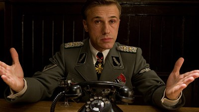 Christoph Waltz in 2009 Tarantino film Inglourious Basterds