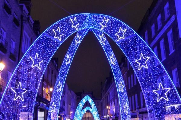 christmas lights london # 48
