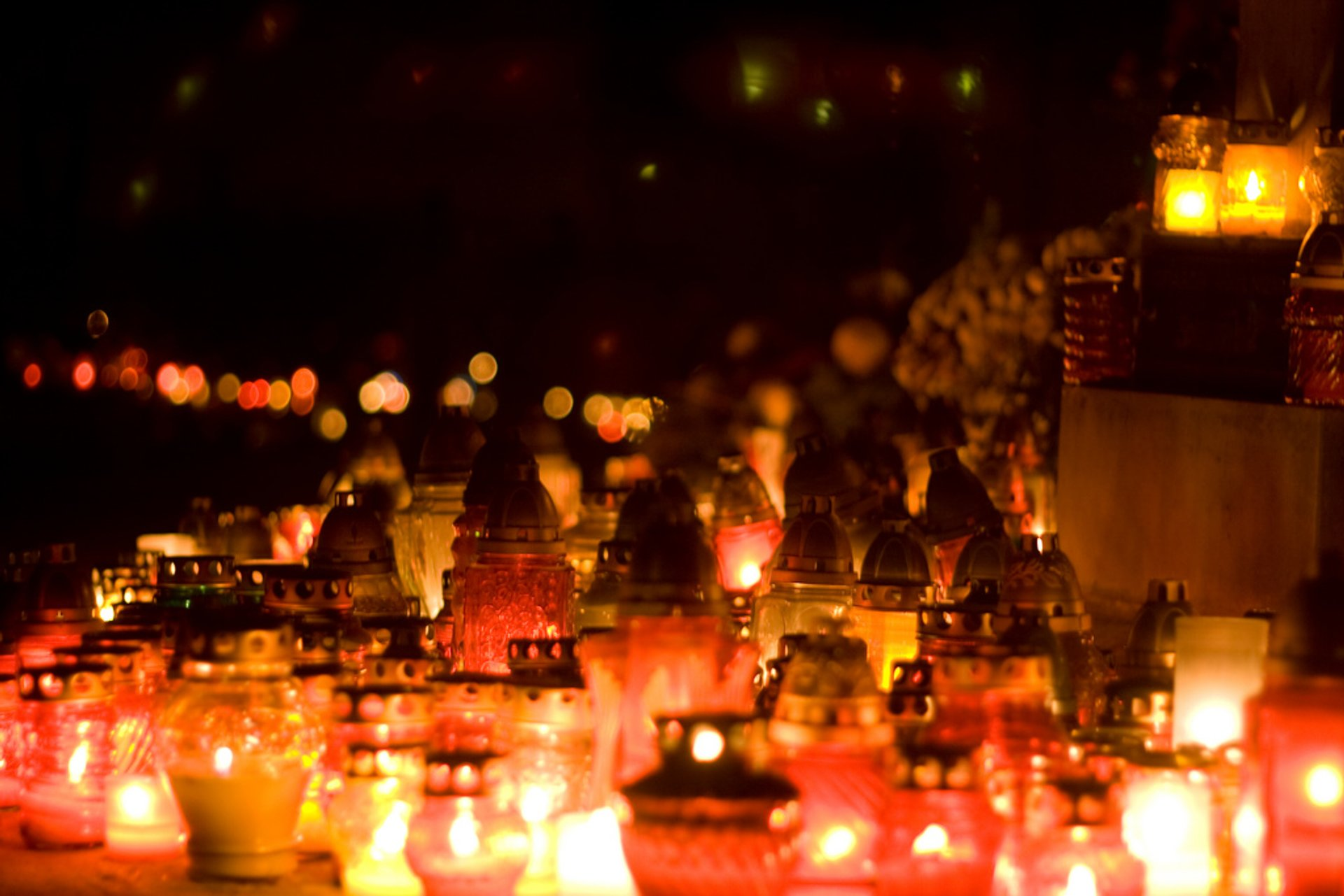 All Saints Day And All Souls Day In Krakow