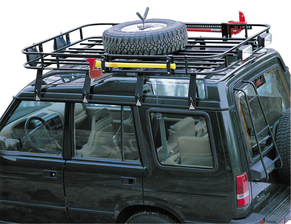 wilderness roof rack spare tire mount
