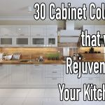 30 Cabinet Colors That Will Rejuvenate Your Kitchen Rugh