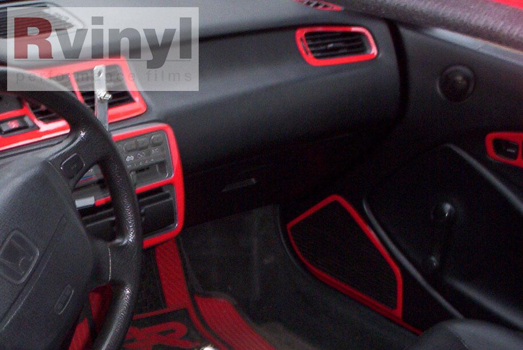 Dash Kit Decal Auto Interior Trim For Honda Civic 1992