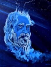 Uranus (Urano) Painting by Fabrizio Gavatorta | Saatchi Art