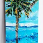 Palm Tree Painting By Suzie Kamalian Saatchi Art