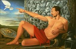 God Mars Painting by Jivan Camoirano | Saatchi Art