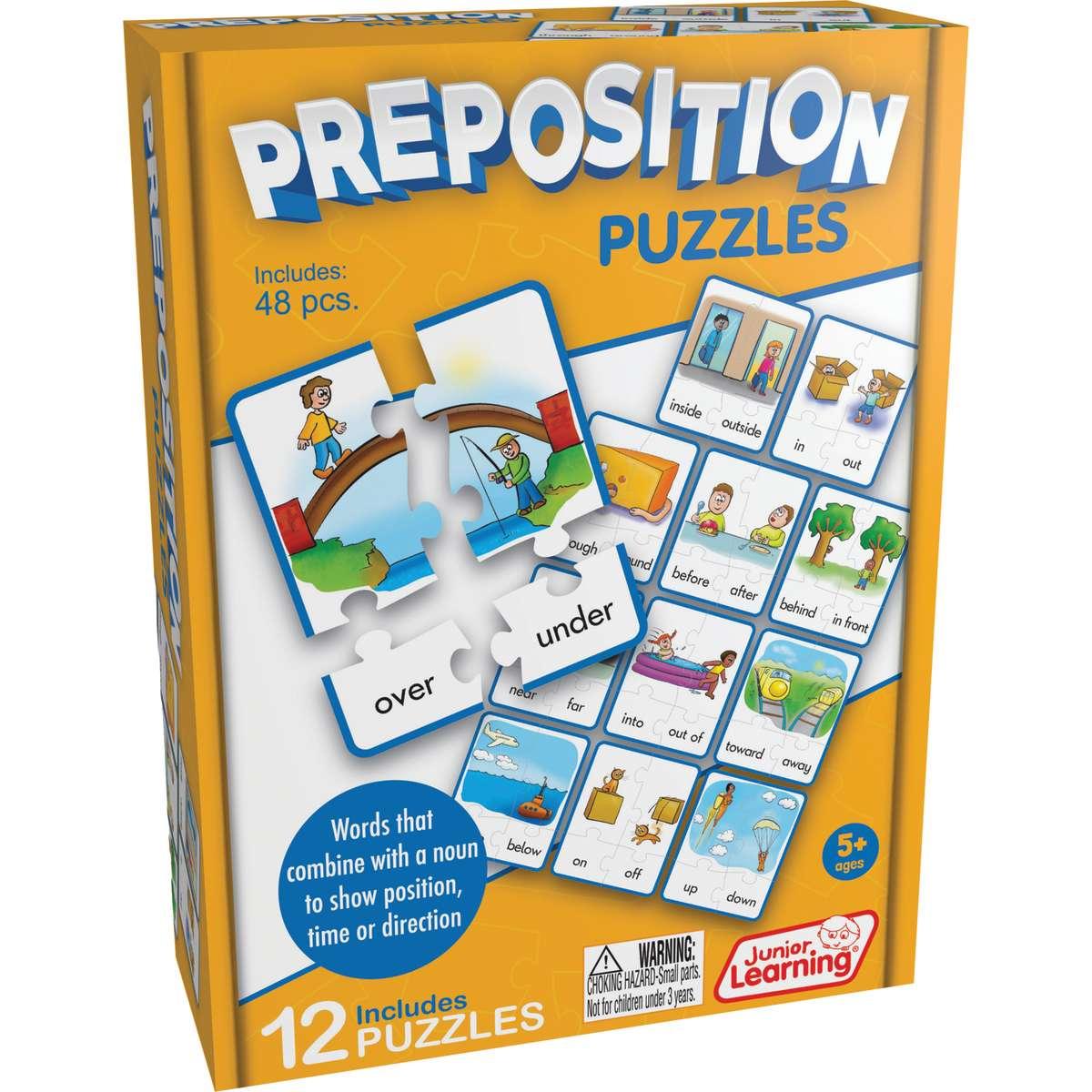 Preposition Puzzles Jrl245