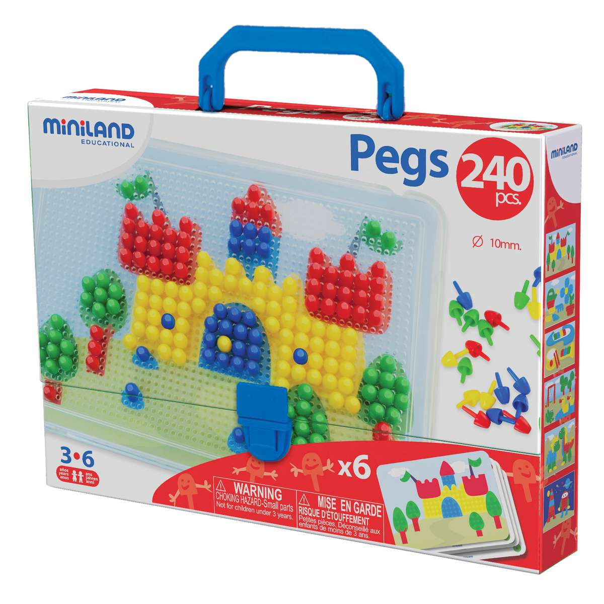Primary Peg Sets 3 8 Pegs 240 Pieces Min