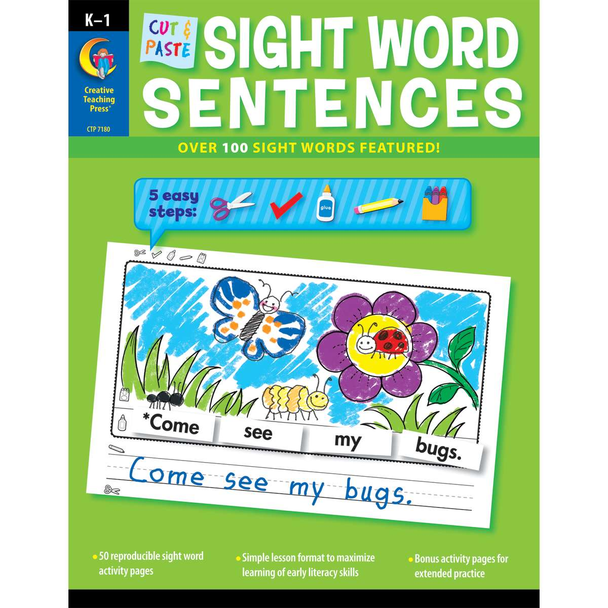 Cut Amp Paste Sight Word Sentences Ctp