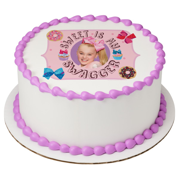 JoJo Siwa Sweet Is My Swagger PhotoCake Image DecoPac
