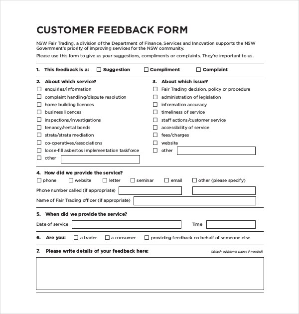 Amazing Client Feedback Form In Word Contemporary   Resume Samples .