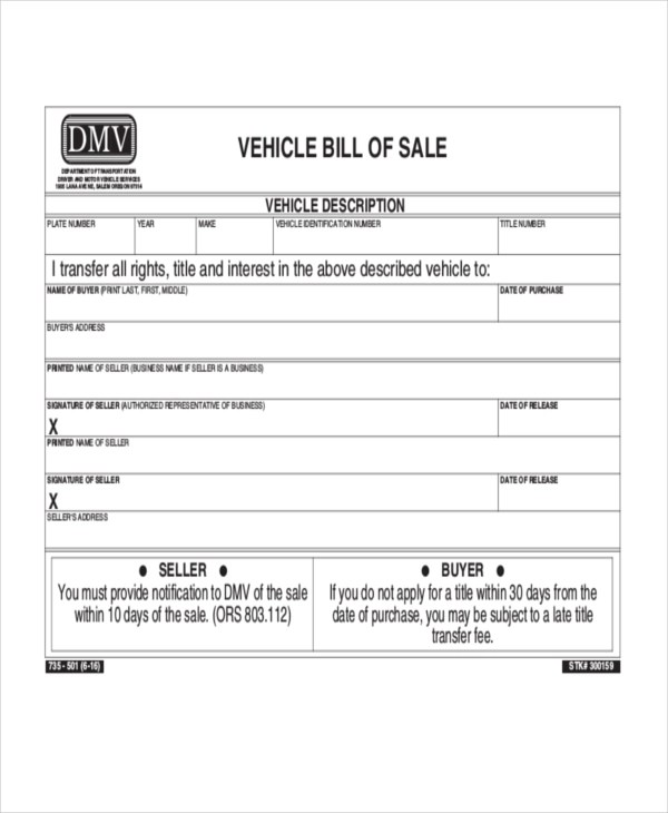 Free Florida Vehicle Boat Bill Of Sale Form Pdf Eforms Fillable Forms
