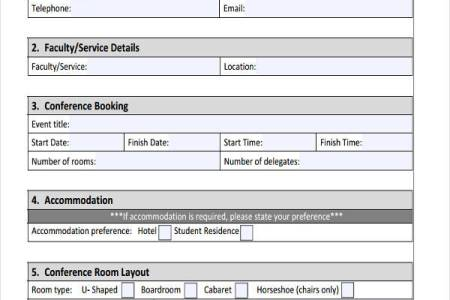 Best Free Fillable Forms » artist booking form template free | Free ...