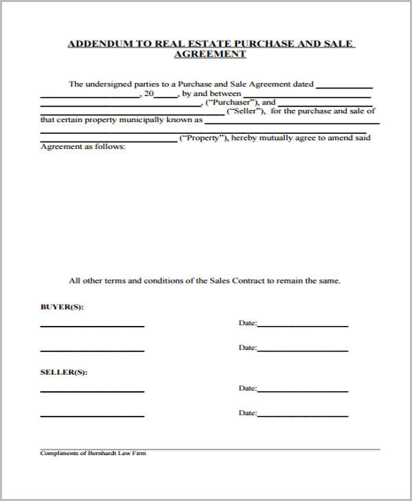 Free 29 Sample Sales Agreement Forms In Pdf