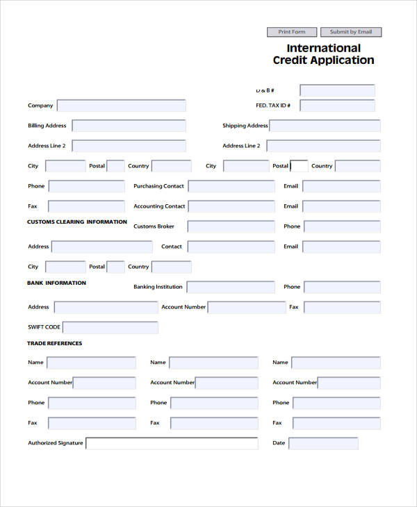 Image Result For Loan Application Form Download
