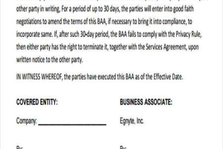 Business Ociate Agreement Samples | Best Free Fillable Forms Hipaa Business Associate Agreement Form