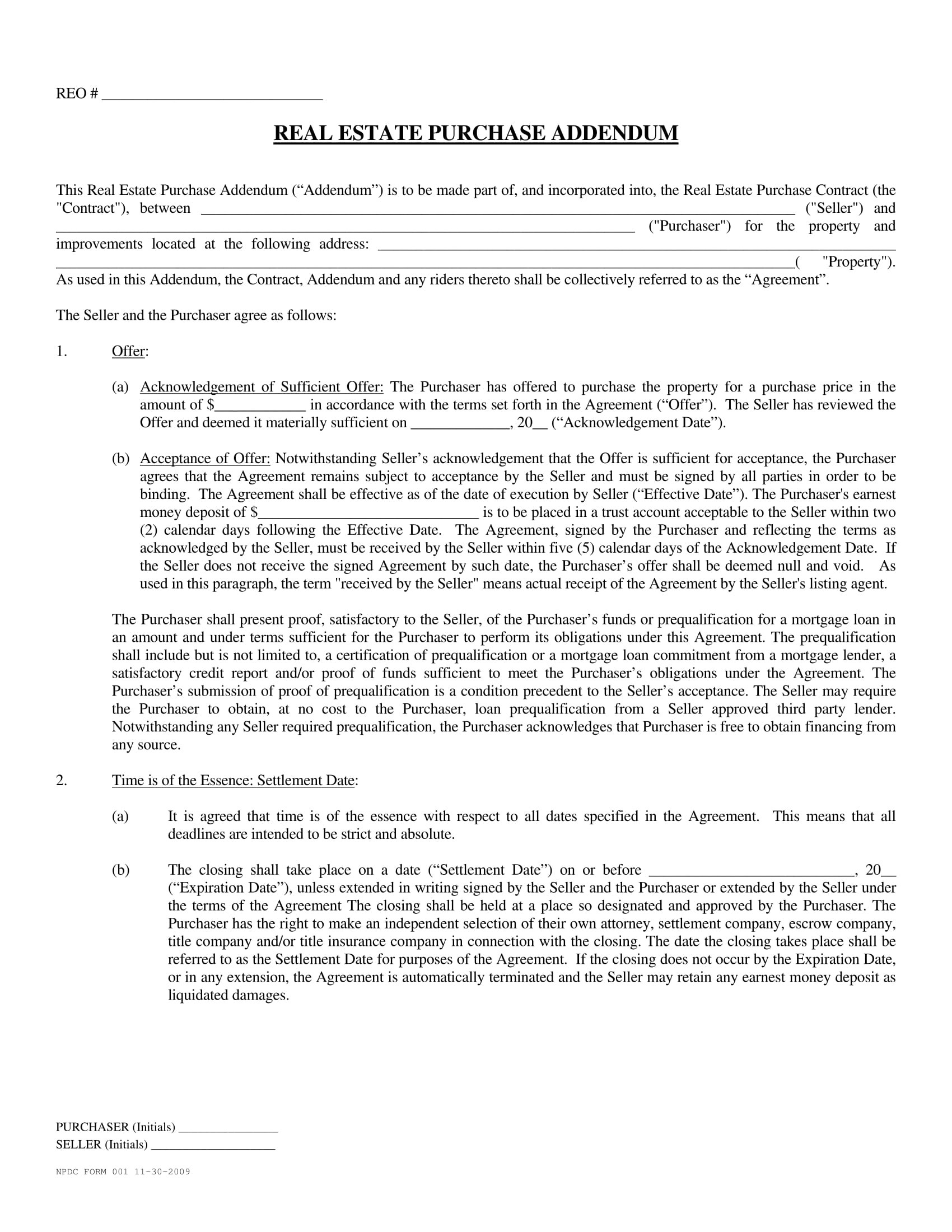 Download Fha Amendatory Clause Real Estate Certification