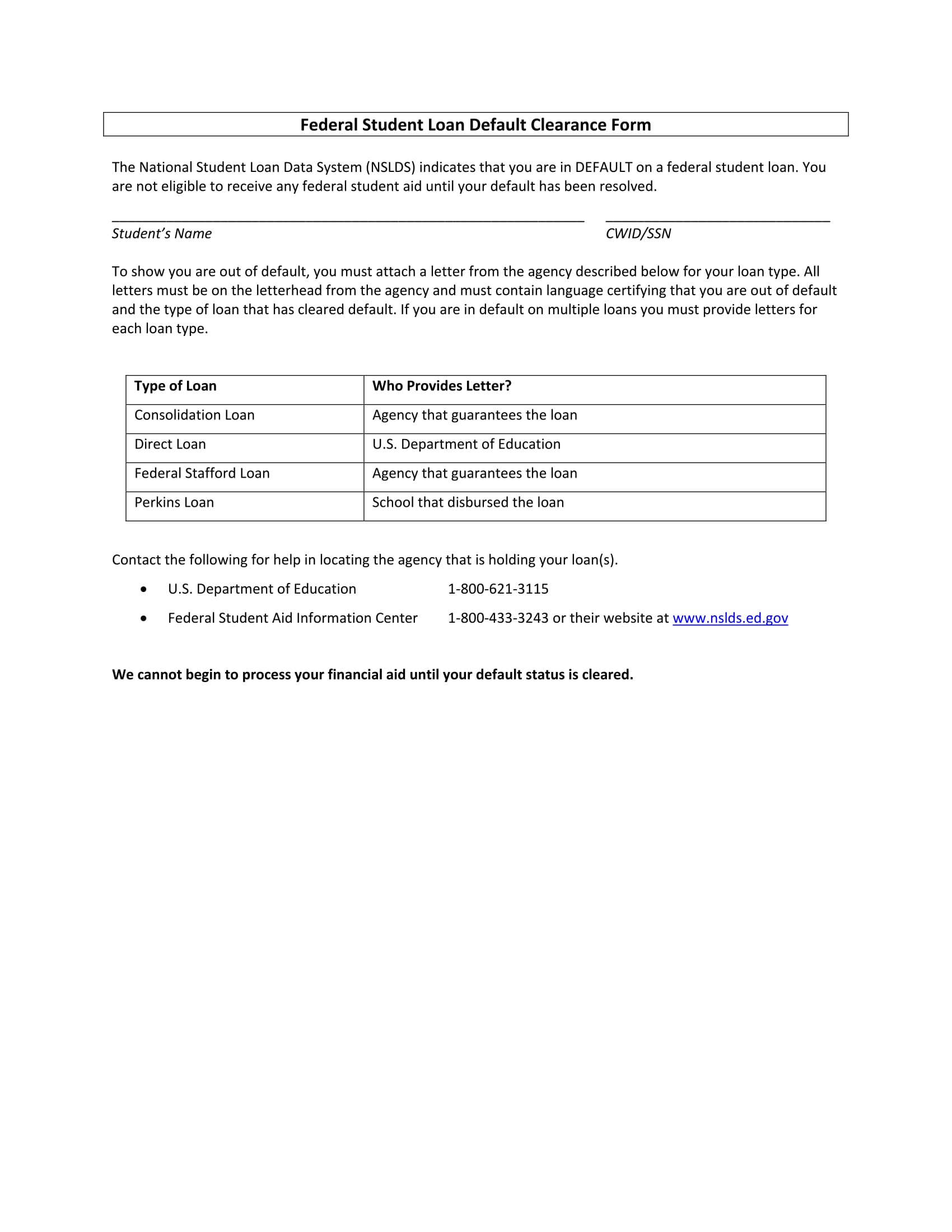 Free 15 Student Clearance Forms In Pdf Ms Word